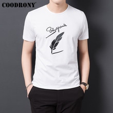 COODRONY T Shirt Men Clothes 2019 Summer Short Sleeve Tee Homme Streetwear Fashion O-Neck Tshirt Cotton T-Shirt S95128