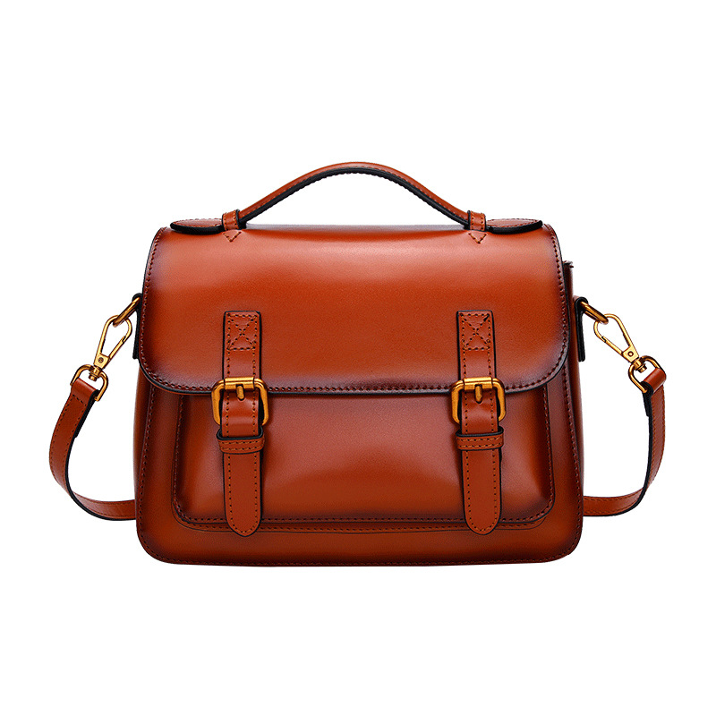 handbags for women 2018   Fashion Retro Leather Postage Bag Europe and America.