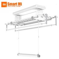 New Xiaomi Mr Bond Smart Drying Rack Multifunction 30KG Bearing Aluminum Alloy Support Mihome App Remote Control