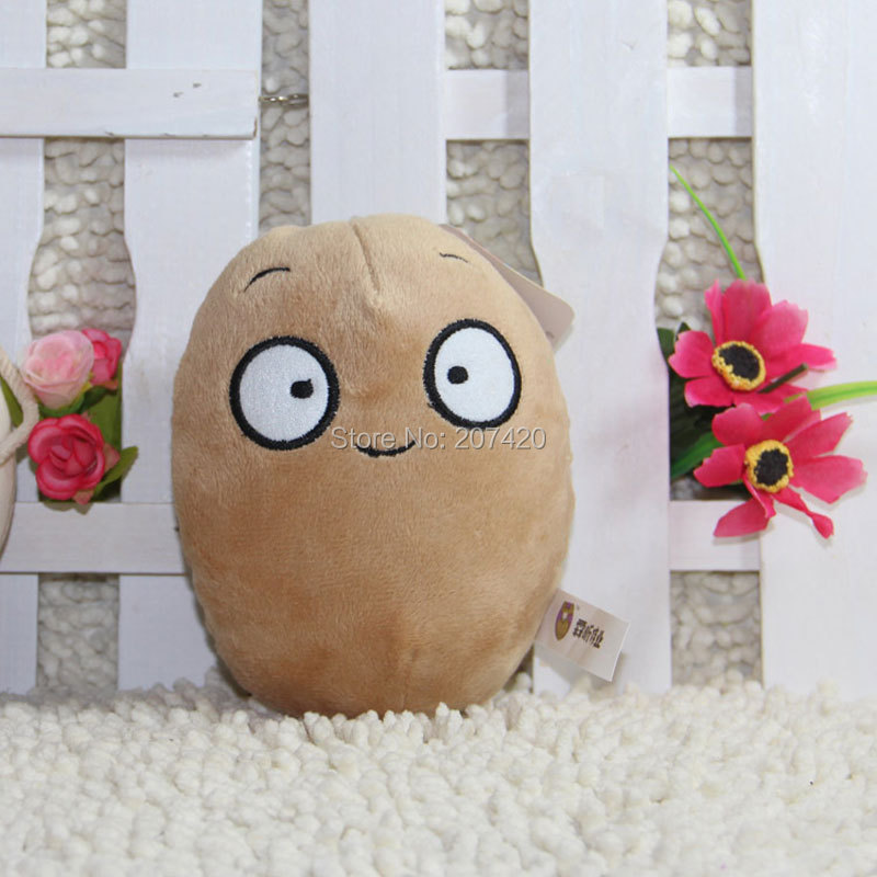 5.5inch Plant Vs Zombies Series Plant Nut Potato Plush Toy Doll,1pcs/pack ...