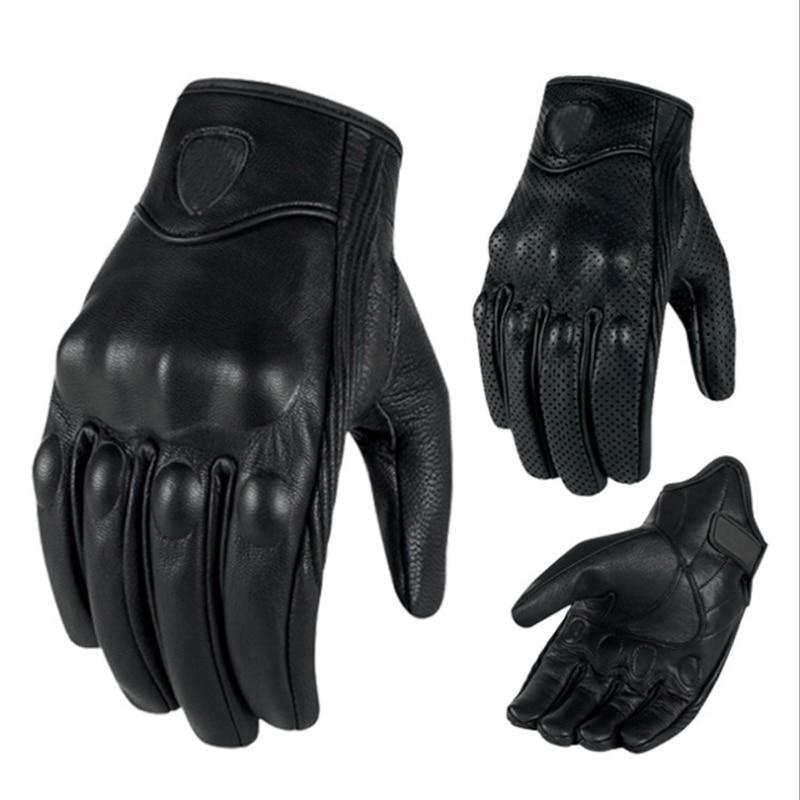 Moto rcycles handschuhe moto kreuz moto cicleta Guantes moto Touchscreen Racing handschuhe Echtes Leder mtb atv Gant moto Winter luvas