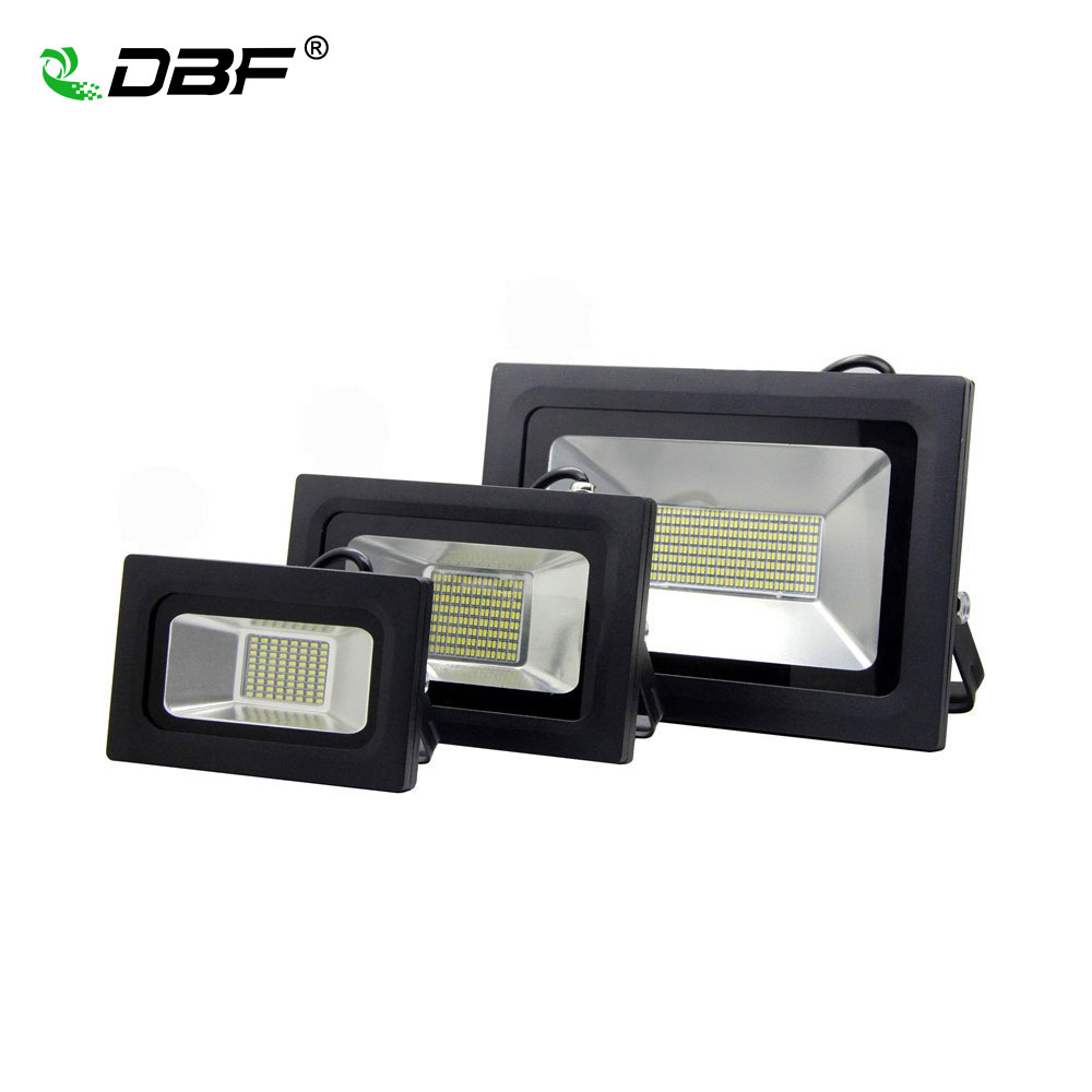 [DBF]<font><b>LED</b></font> <font><b>Floodlight</b></font> <font><b>60W</b></font> 30W 15W Ultal Thin <font><b>Led</b></font> Flood Light Spotlight 220V 230V Waterproof Outdoor Wall Lamp Projectors image