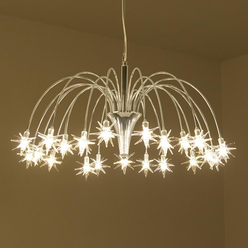Postmodern LED pendant Lighting Living Room Dining Room Lighting Individual Clothing Shop Cafe Lighting