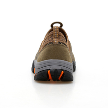 Big Sizes Mens Sport Sneakers Breathable Climbing Shoes Men Anti-Slippery Mens Mountain Boots Shockproof Mens Fishing Shoes