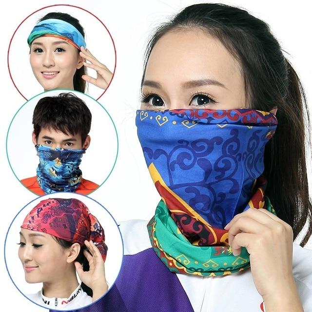 New Arrival Magic Head Face Mask Snood Bandana Neck Riding Warmer Wrap  Shawl Magic Scarf For Women Men Unisex 2b73c9ec2