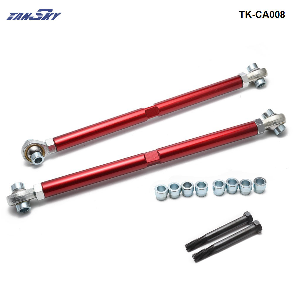 US $22 77 5% OFF|REAR LOWER CONTROL ARM (Red) FOR 89 94 NISSAN 240SX S13  SILVIA TK CA008-in Control Arms & Parts from Automobiles & Motorcycles on
