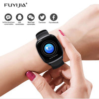FUYIJIA 2019 New Sports Smart Watch Woman Female Watches Touch Color Screen Men Watch Smart Reminder Waterproof Clock Heart Rate