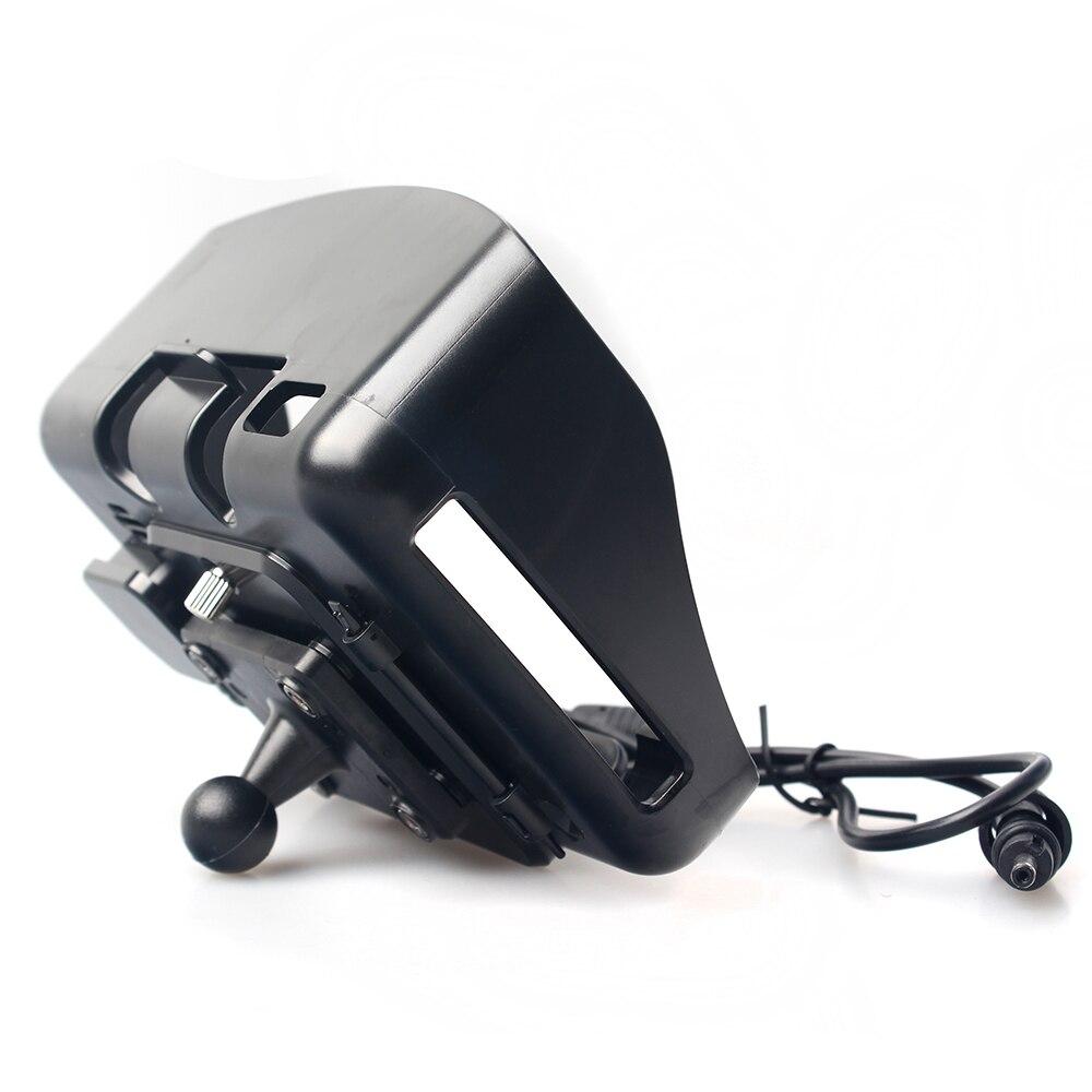 GPS zubehör! Cradle Halter Nur geeignet für Fodsports 4,3 zoll Wasserdichte Motorrad GPS Navigation