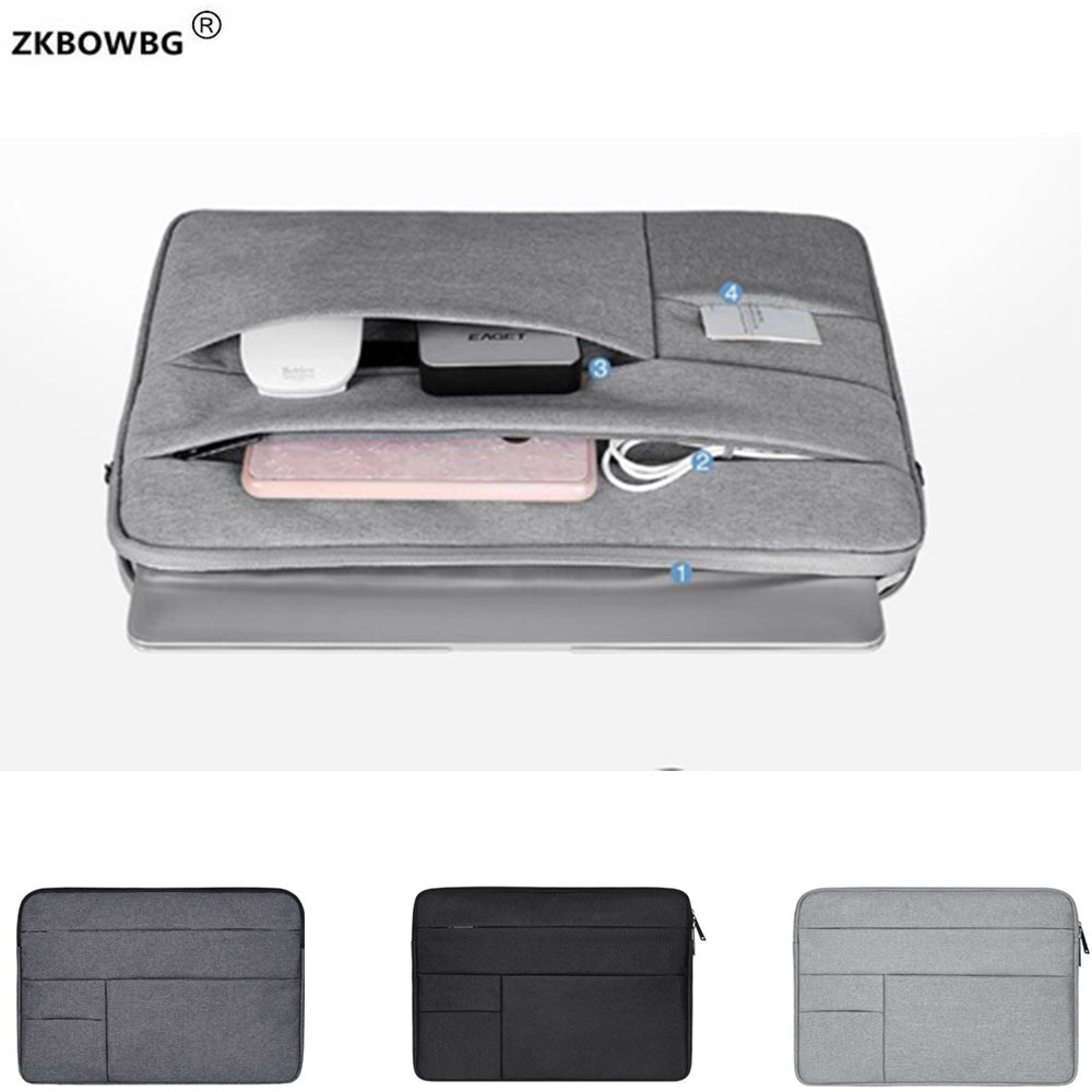 Laptop Bags For Microsoft Surface Laptop Book 2 1 13.5 Book2 15 Tablet Pouch Case For Surface Pro 6 5 4 3 2 1 12'' Bag Sleeve