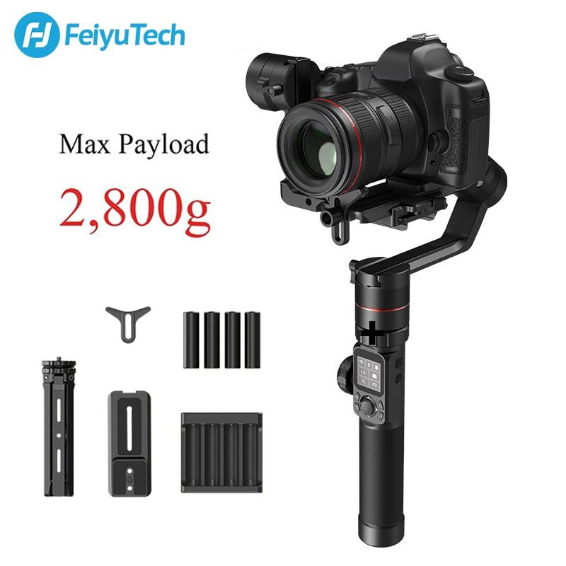 FeiyuTech AK2000 3 Axis Handheld DSLR Mirrorless Camera Stabilizer Tripod Gimbal for Sony Canon 5D Panasonic