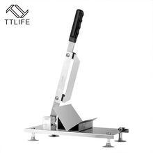 TTLIFE Household Manual Meat Slicer Lamb Beef Meatloaf Frozen Meat Cutting Machine Vegetable Mutton Rolls Hand Mincer Cutter