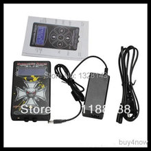 Tattoo Power Supply Metal material Digital LCD Dual Input Power Supply PS-4 for tattoo machine high quality