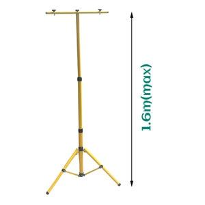 Image 4 - BSOD ayarlanabilir projektör Tripod LED aydınlatma standı LED projektör için kampı çalışma acil durum lambası çalışma ışığı Tripod sarı