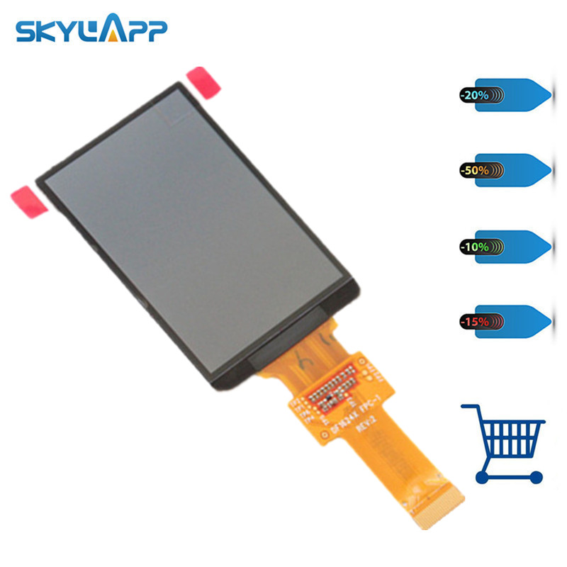 Skylarpu 2.6 inch LCD display screen DF1624X FPC-1 RE:V For GARMIN edge 810 (Without backlight) (without touch) Free shipping t art блузка