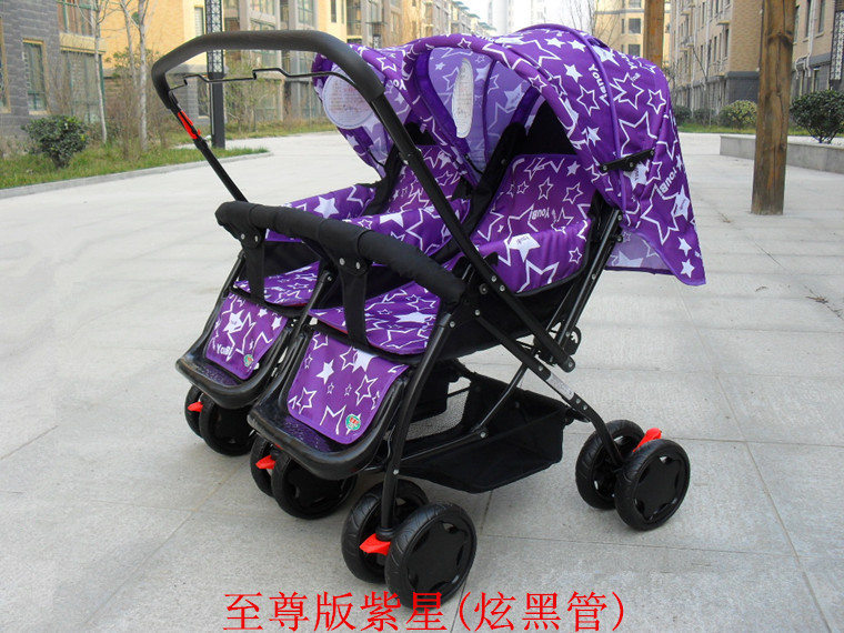 New Arrival Twins Baby Strollers,Good Quality Stroller for Twins Pushchair,Infant Boys and Girls Kids Twin Prams,Free Shipping big space twins prams for children 0 4 years baby carrinho for twin with all cover sun canopy oxford fabric twin baby carrier