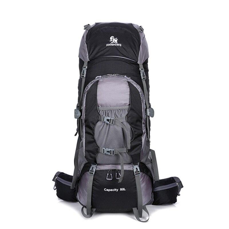 80L Nylon sacs de plein air Camping randonnée sac à dos sac étanche hommes femmes sacs à dos sac de Sport escalade sac à dos voyage sac à dos