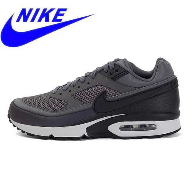 a3723d1e8082c Authentic Nike Air Max BW 3M Dark Grey Original New Arrival Men s  Breathable Running Shoes Sports Sneakers Trainers
