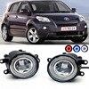 For Toyota Urban Cruiser 2009 2 In 1 LED Cut Line Lens Fog Lights Lamp 3