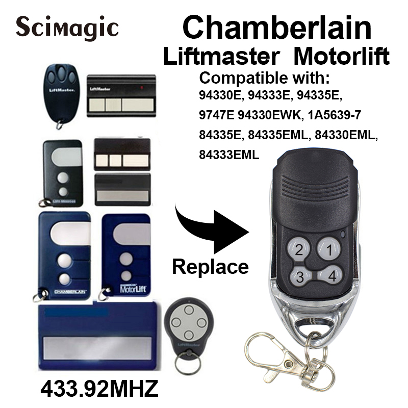 Chamberlain Liftmaster Motorlift 94335E Replacement Remote Control 1A5639-7 New Link Good Quality