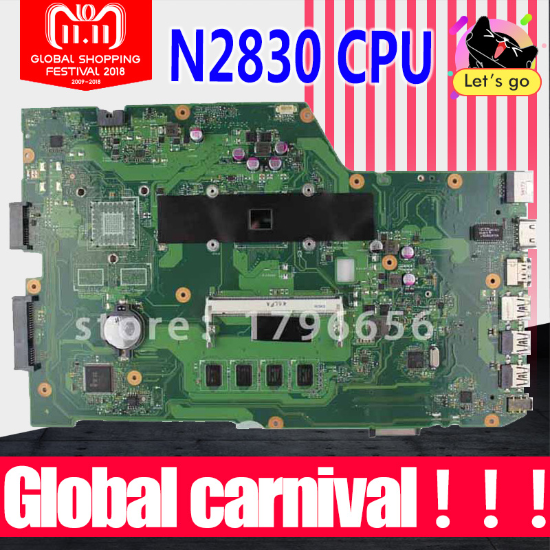 r752md motherboard x751md rev2 0 mainboard k751m k751ma x751ma r752m processor n3530 with 4g memory on board gt 820m 1g tested X751MA Motherboard N2830-REV2.0 RAM For ASUS K751M K751MA X752M laptop Motherboard X751MA Mainboard X751MD Motherboard test 100%