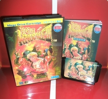 Bare Knuckle 3ตลับเกมเกมญี่ปุ่นพร้อมกล่องและคู่มือสำหรับSega Megadrive Genesisคอนโซลวิดีโอเกม16บิตการ์ด