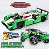 LEPIN 20003 Technic City Series 24 Hours Race Car Figure Blocks Construction Building Bricks Toys For