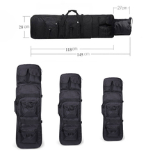 81 / 94 118cm Tactical Gear Hunting Airsoft Rifle Gun Case Military Shooting Sport Bag Heavy Duty Square Shoulder