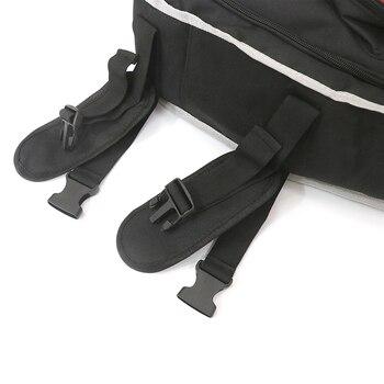 Kofferraum Ladungsorganisator | Für Jeep Wrangler JK JL Organizer Multi Taschen Tasche Hinten Stamm Links Rechts Seite Werkzeug Gadget Fracht Gepäck Tasche Sattel 2007-2019