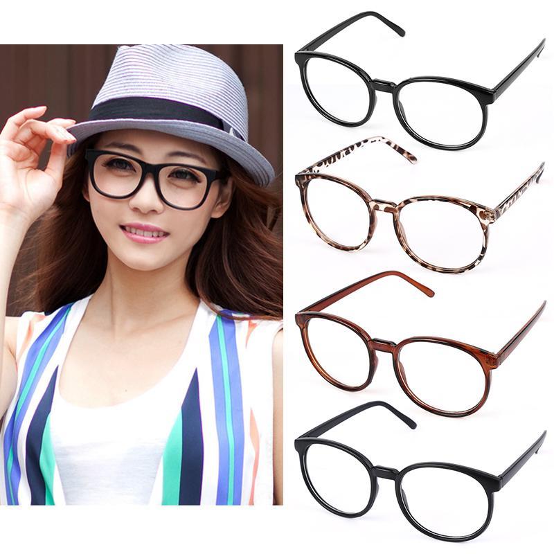 Neue Heiße Retro Runden Rahmen Vintage Männer Frauen Brillen Brille ...