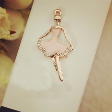 Здесь можно купить   DIY Fashion charm bracelet bangle Ballet dancer metal charms for jewelry making Pendant floating charm Key Chains as Accessories Fashion Jewelry