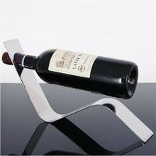Edelstahl Arc Weinständer Halter-flaschen-gestell Kühler Eimer Inhaber Barbedarf Bar Werkzeuge