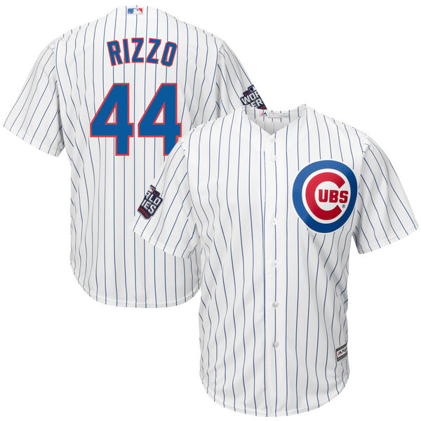 4cd34a2f1 ... jersey  mlb mens chicago cubs anthony rizzo 44 baseball white 2016  world series bound home cool base