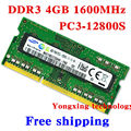 Пожизненная гарантия для samsung DDR3 4 ГБ 1600 мГц PC3 12800 S DDR 3 4 г портативный ноутбук памяти первоначально подлинное 204PIN SODIMM