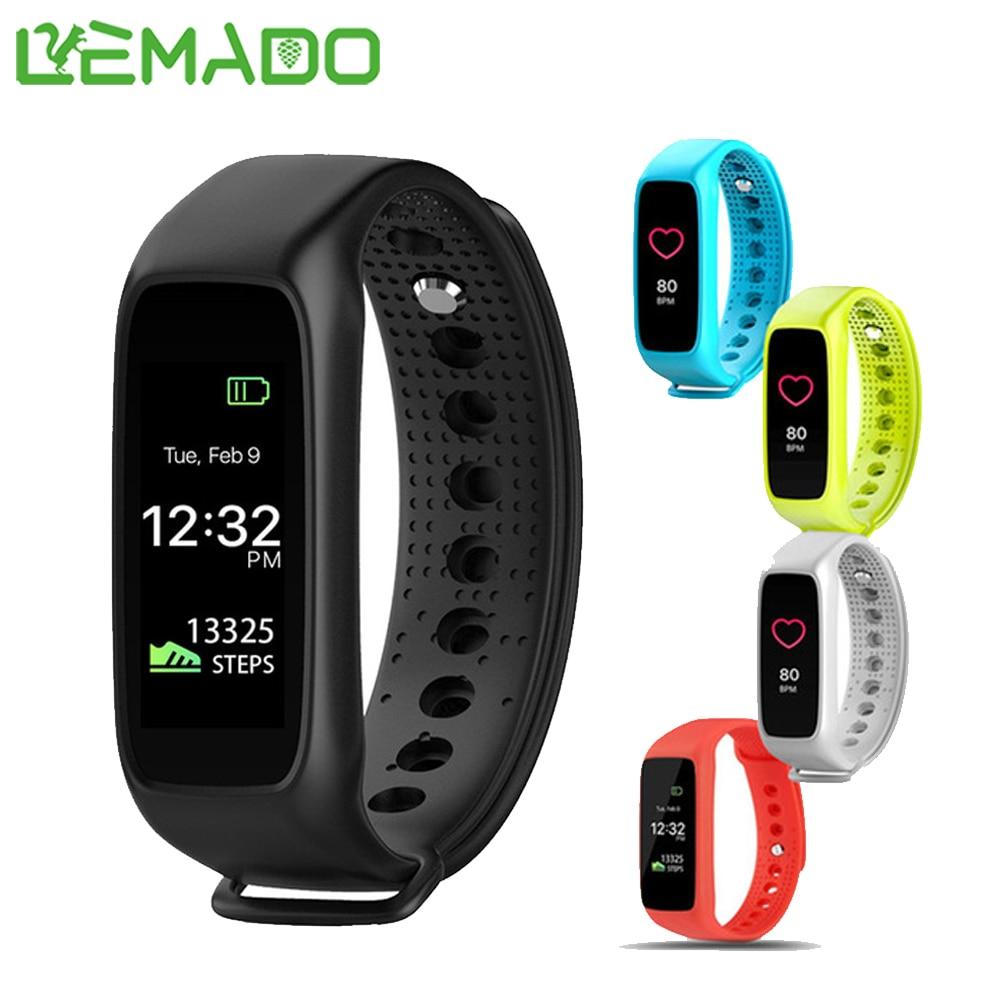 imágenes para Lemado L30t Inteligente Bluetooth Banda Llamada Recordar Pulsera Rastreador De Fitness Podómetro Pulsera Para Samsung Huawei Xiaomi IOS teléfono