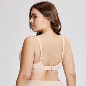 Image 2 - Womens Smooth Comfort Soft Cup Wirefree Lightly Lined Seamless Bra