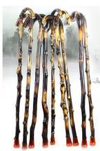 European black cane wood wooden stick man portable