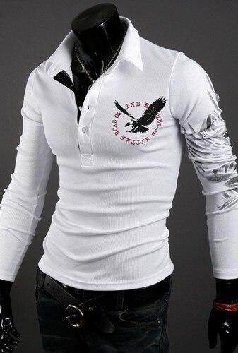 Męska koszulka 2019 moda marka odzież orzeł męskie koszulki