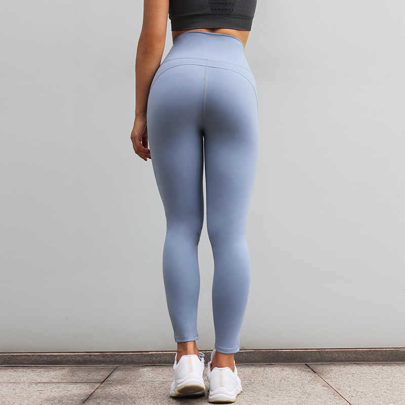 195f111e597b4 ... Women Squat Proof Booty Sexy Slim Capris Fitness Workout Yogaing Gyms  Pant Purple Butt High Waisted ...