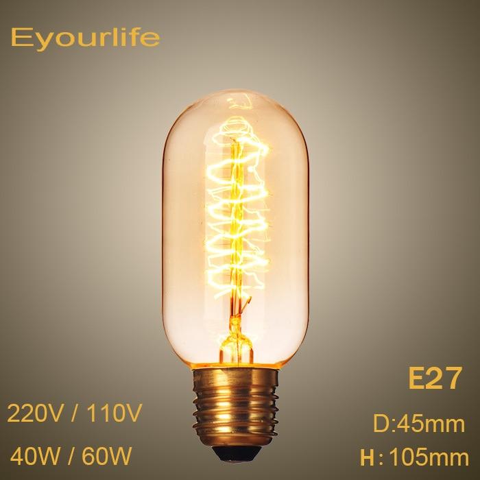 Lightinbox Vintage Edison Bulbs Incandiscent Light Bulbs 220V ,40W/60W For Decoration Of Living Room,Bedroom,Study 99