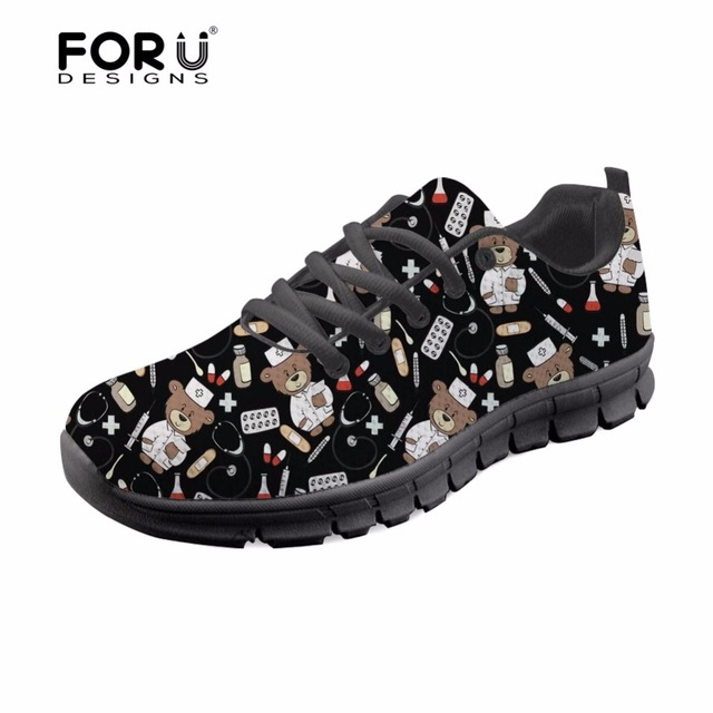 486067b781697 FORUDESIGNS-Bear-Nurse-Sneakers-Black-Women-Shoes -Flats-Pediatrics-Nurses-Casual-Summer-Light-Leisure-Shoes -for.jpg 640x640.jpg