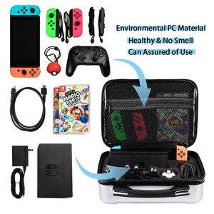 Image 5 - Bolso de mano para Nintendo Switch, funda de almacenamiento resistente al agua, antiarañazos, a prueba de golpes, para Nintendo Switch Joy, novedad de 2019