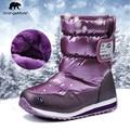 -30 grados Rusia invierno cálido Bebé Zapatos de moda impermeable niños zapatos las niñas botas perfecto para los Niños Accesorios