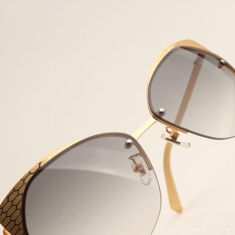 Sonnenbrille Qualität Populäre Uv Rahmen Frauen Top Luxus Schutz Co1 Verkauf Eye Für Retro Halb Heißer Neueste Cat 2018 6ZqS7AcIF