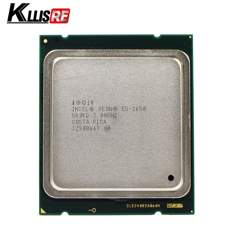 INTEL XEON E5 2650 SR0KQ C2 CPU 8 CORE 2 0GHz 20M 8GT s 95W PROCESSOR