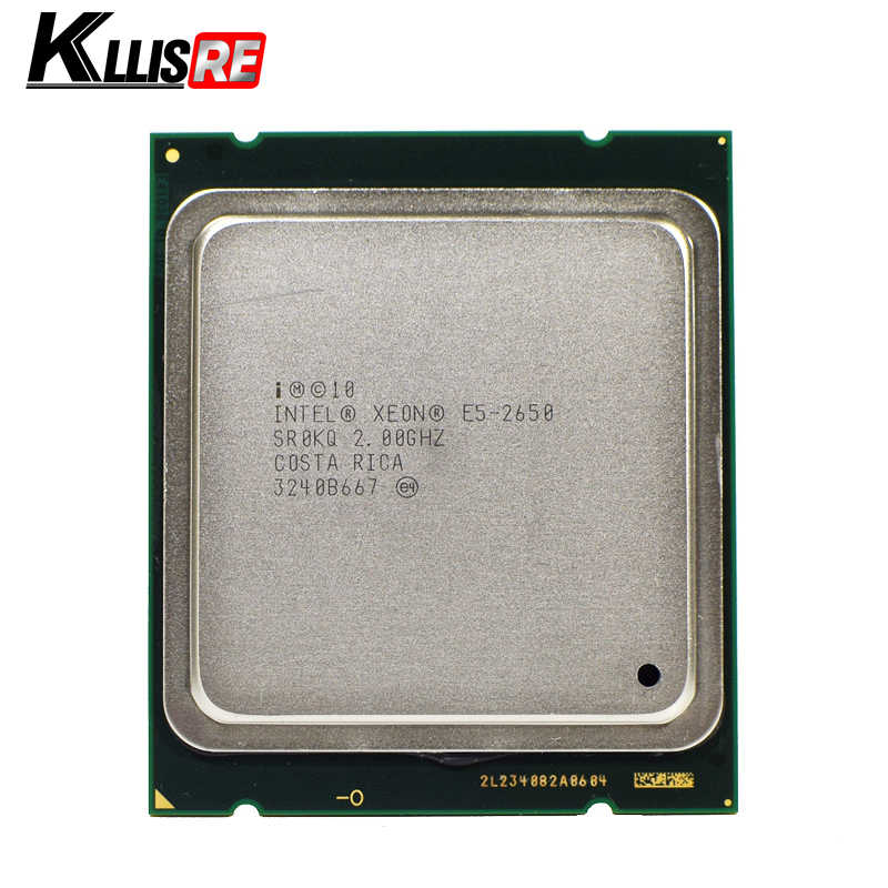 INTEL XEON E5-2650 SR0KQ C2 CPU 8 CORE 2.0GHz 20M 8GT/s 95W PROCESSOR E5 2650