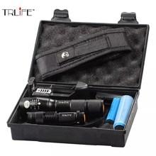Lampe de poche tactique Super brillante T6/L2, pour lextérieur, Zoom Ultra lumineux avec batterie + Mini lampe de poche + chargeur pour cadeau de camping