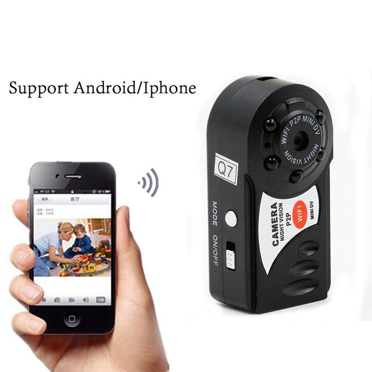 4G Card+Mini Q7 WIFI Night Vision Wireless Camera P2P DVR Surveillance Video Record Cam4G Card+Mini Q7 WIFI Night Vision Wireless Camera P2P DVR Surveillance Video Record Cam