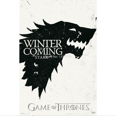 Custom Game of Thrones Плакат Новинка - Домашний декор