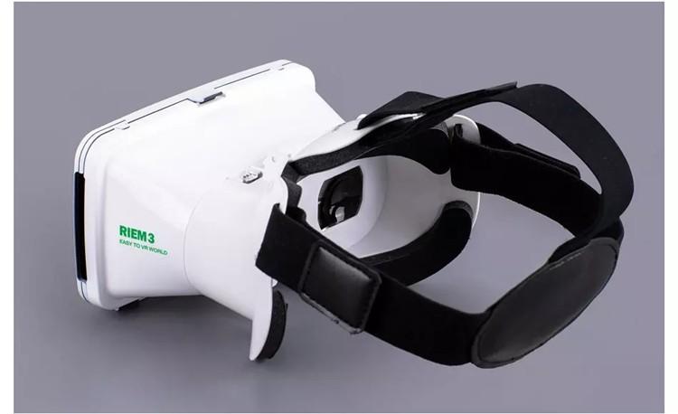 New Ritech III 3D VR Glasses RIEM3 Virtual Reality Head Mount Google Cardboard Oculus Rift DK2 Box for 4.7 ~ 6.0 Inch SmartPhone (16)