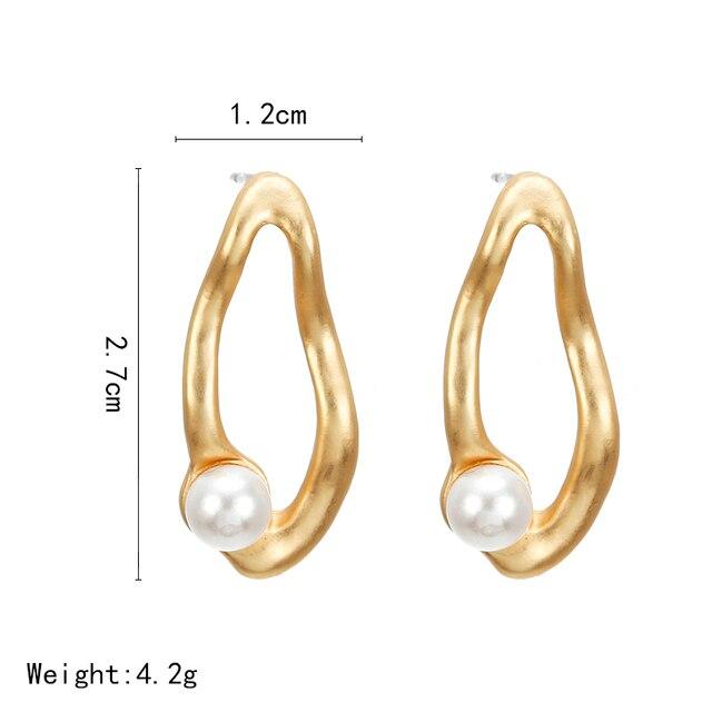 Pearl Drop Earrings 4